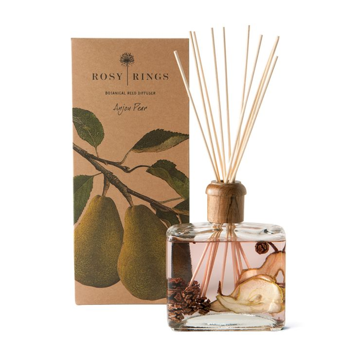 Rosey Rings - Anjou Pear Reed Diffuser - hands down my favorite home fragrance