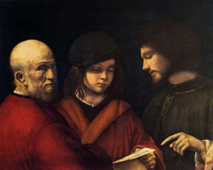Giorgione - The Three Ages of Man, 1501