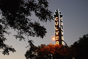 Culver City sign Kirk Douglas theater
