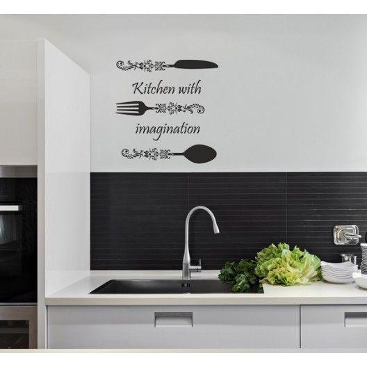 Moderna nalepka do kuchyne