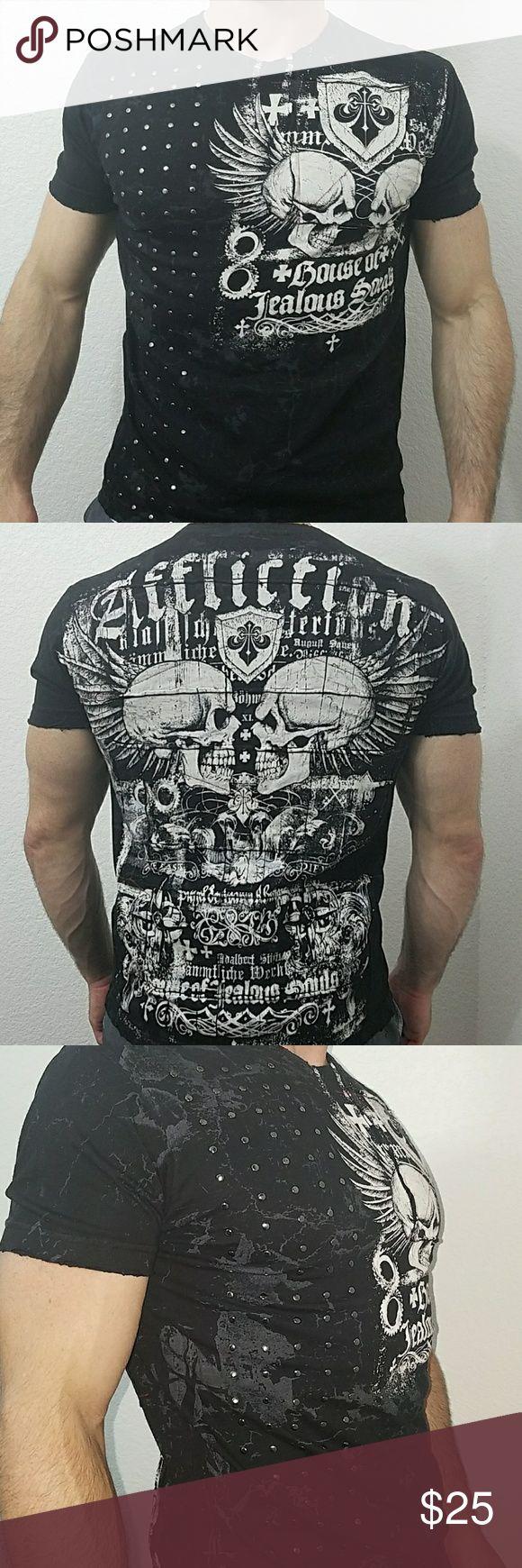 Affliction Mens T Shirt LIKE NEW! Affliction Shirts Tees - Short Sleeve