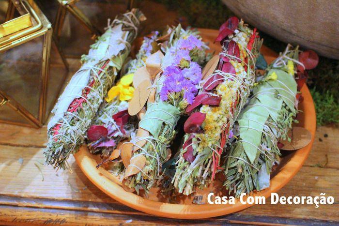 Buquês de ervas aromáticas