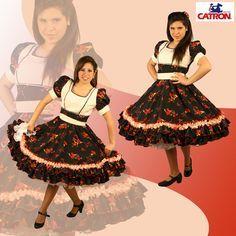 Catron vestidos de huasa - Imagui