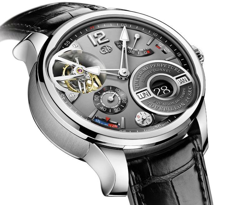 Les nouveautés 2014 de la manufacture d'Horlogerie Greubel Forsey - Les marques - Horlogerie Suisse
