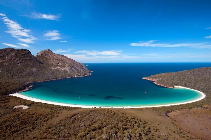 Wineglass Bay, Tasmania - Tomorrow we start our 1 year Australia road trip. Visit the blog!