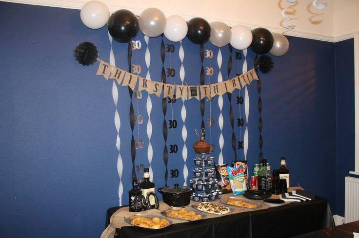 30th party decor Jack Daniels party