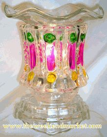 """BRILLIANCE"" - Electric Oil Warmer-wm12 - Has dimmer control for the release of light and fragrance - 5""t x 5"" diameter"