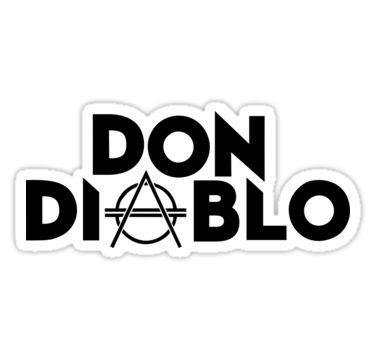 """Pegatinas """"Don Diablo"""" de BigRing   Redbubble"""