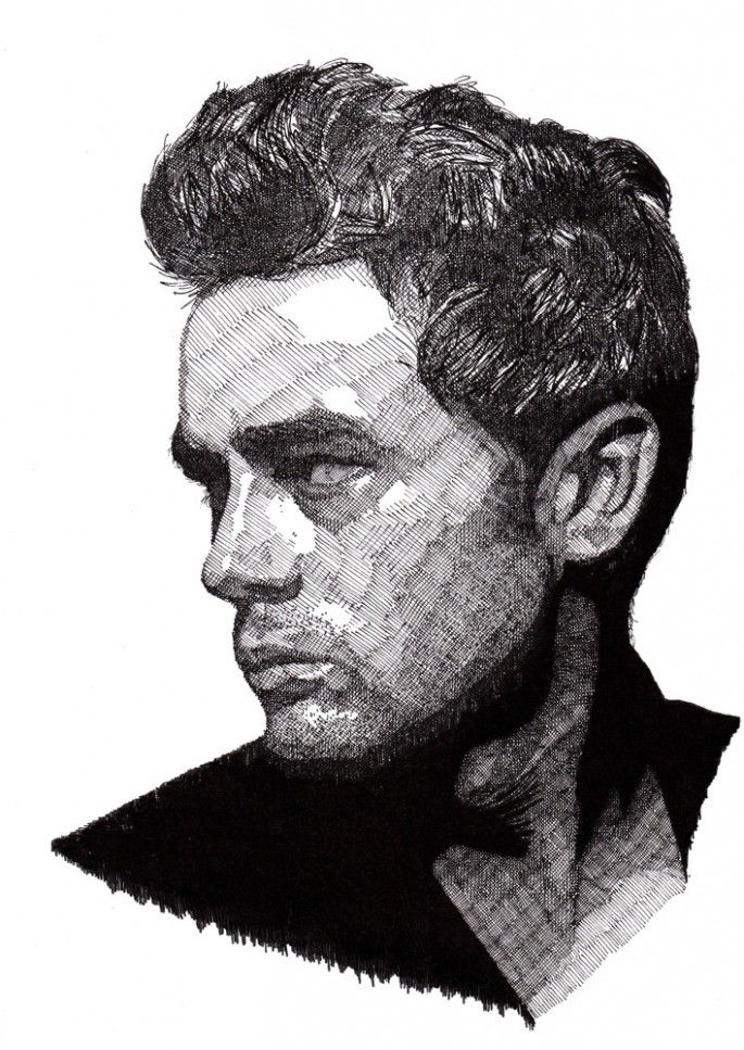 Cross Hatching Famous Artists