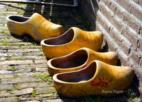 """[Lina] took off one of her wooden shoes and sat staring moodily into it."" (wooden shoes) Get more free enrichment and homework resources for The Wheel on the School by Meindert DeJong (1954) at www.LitWitsWorkshops.com. Perfect for classrooms, after-school clubs, and homeschool co-ops!"
