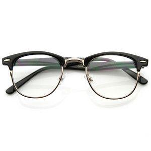 new original rx optical classical clear lens half frame clubmaster glasses 2946 ebay - Ebay Glasses Frames
