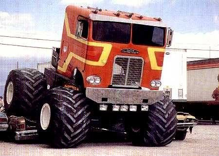 "The ""DESTROYER"" was a a popular monster truck in the 80's"
