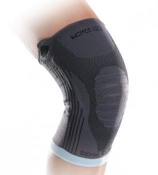 De Genuextrem is een elastische kniebrace met laterale versterking voor herstel na een knieblessure. Ideaal voor gebruik tijdens het sporten. -