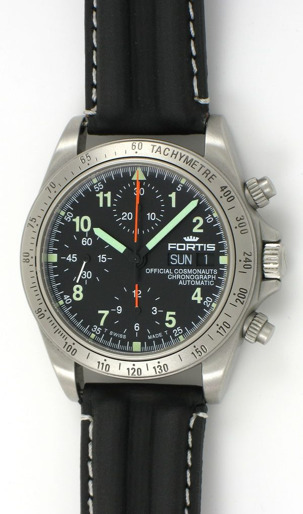 Fortis Cosmonaut Chronograph 630 22 141 Best Looking Watches Chronograph Fortis