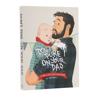 Reading Toby Morris' graphic novel about his first year of fatherhood is a charming fly-on-the-wall experience celebrating the highs and lows of a new baby.  Whether read from cover-to-cover or dipped into at random, there's a heart-warming anecdote or illustration that will have fathers laughing and nodding their heads in recognition.  Flexicover, 288 pages, measures 168mm x 118mm x 20mm. @themarketnz  #Clevercreations