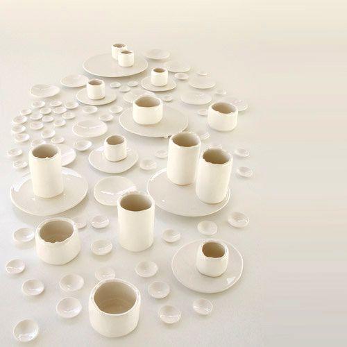 ceramica fluida + tavola - Aragodesign