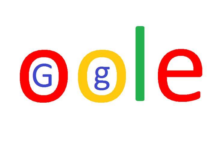 Funny, new, Google, logo.
