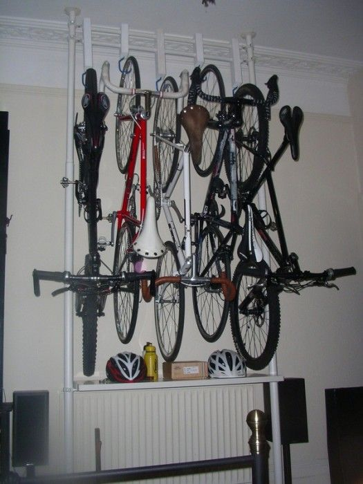 From Stolmen post, to a 5 cycles storage | IKEA Hackers Clever ideas and  hacks