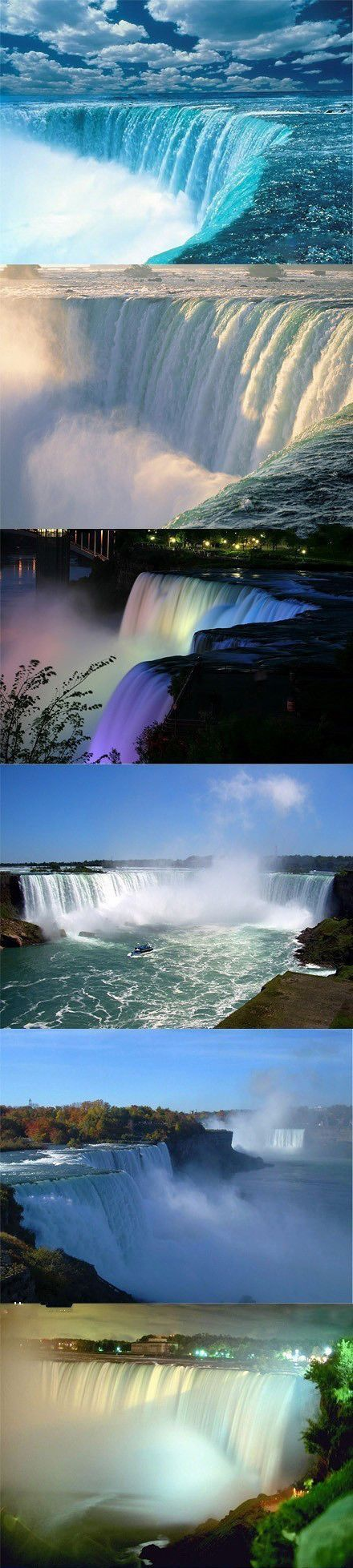 Niagara Falls, both the U.S. side and the Canadian side.                                                                                                                                                      More