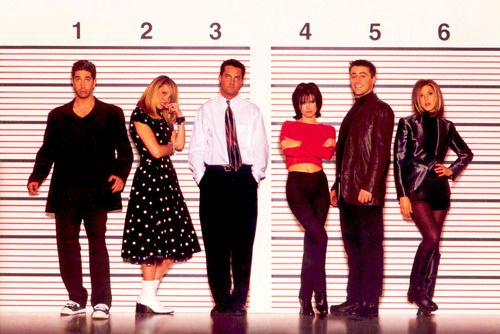 I like the way everybody poses except chandler who just like hi doesn't care
