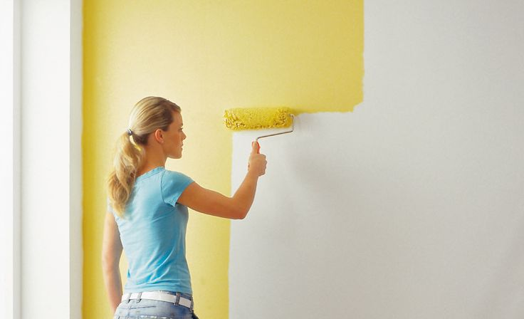Selbst ist die Frau: Das Gestalten mit Farbe gehört zum Heimwerken einfach dazu! Wir geben Tipps ...