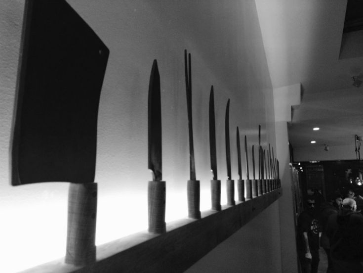 Knifes at The Beast [Texan Smokehouse]
