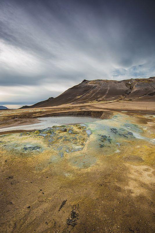 Iceland - Námaskarð  #Iceland #Námaskarð #Myvatn #Landscape #nature