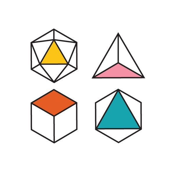 Geometry - Set of 2 – TATZ temporary designer tattoo