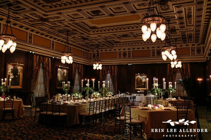 Planner: Angela Proffitt Venue: The Hermitage Hotel, Nashville Photographer: Erin Lee Allender Photography