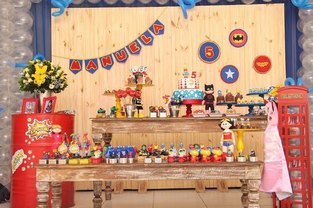 Filhos etc.: Festa de aniversário - Super-heroínas