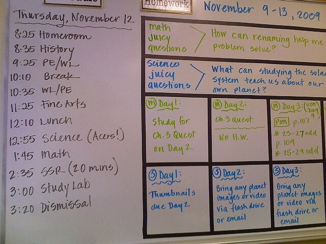 Changing up the weekly postings with essential questions!  Brilliant!!Daily Schedule, Classroom Decor, Boards Organic, White Boards, Bulletin Boards, Juicy Questions, Reading Center, Classroom Organization, Classroom Organic