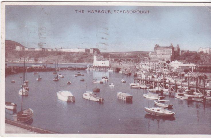 Scarborough Harbour 1954