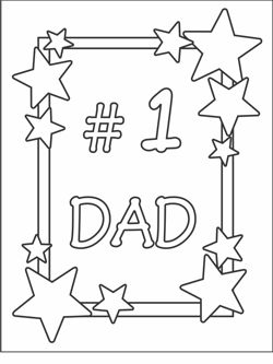 Free Printable Fathers Day Cards | Coloring Cards For Kids