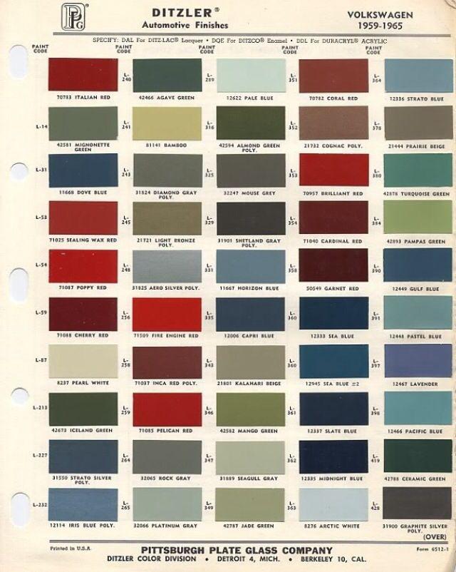 Toyota    Paint Codes Ditzler      Toyota       Land       Cruiser    FJ40 FJ45 FJ55  Icon HJ47  BJ40  ironpigs