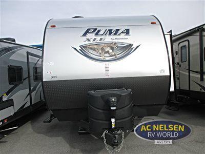 New 2016 Palomino Puma XLE 29FQC Toy Hauler Travel Trailer at AC Nelsen RV | Omaha, NE | #12467