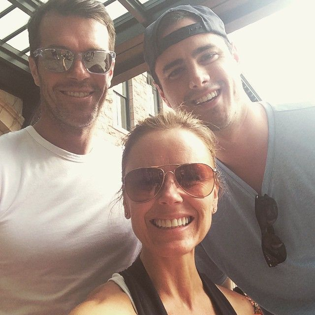 Ryan and Trista Sutter & Ben Higgins