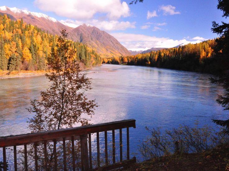 Cheap Car Rental In Anchorage Cooper Landing House Rental: The River House - Cooper Landing ...