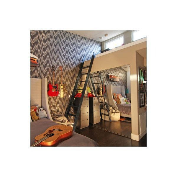 teenage bedroom ideas for boys ❤ liked on Polyvore