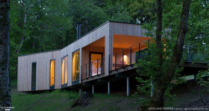 m s de 1000 ideas sobre cabane sur pilotis en pinterest cabane insolite cabinas y cabane pour. Black Bedroom Furniture Sets. Home Design Ideas