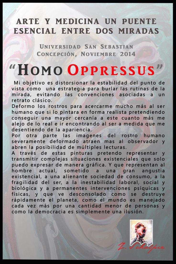 Exposición, noviembre 2014 Universidad San Sebastian, Concepción