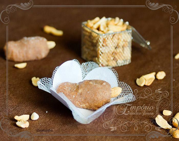 Cajuzinho. Tradicional doce de amendoim - Empório Doces Finos