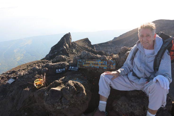 top of gunung agung