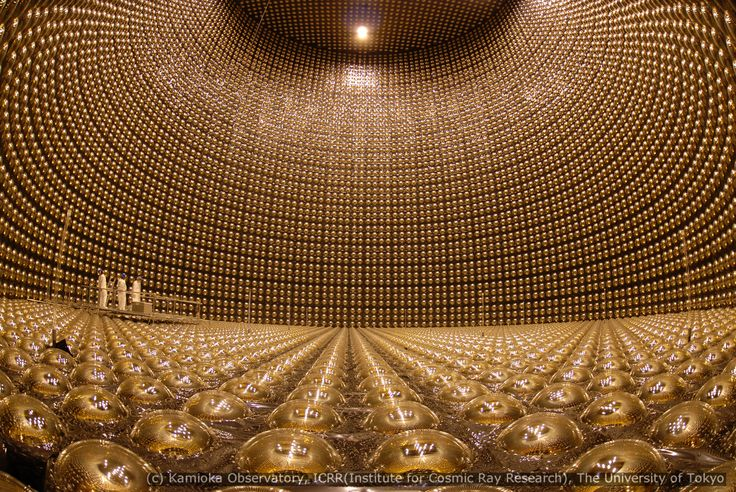 The Super-Kamiokande (Super-K) Neutrino detector in Hida, Japan