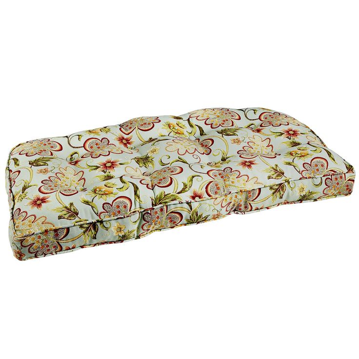 Deluxe Settee Cushion - Angelique Blue   Pier 1 Imports