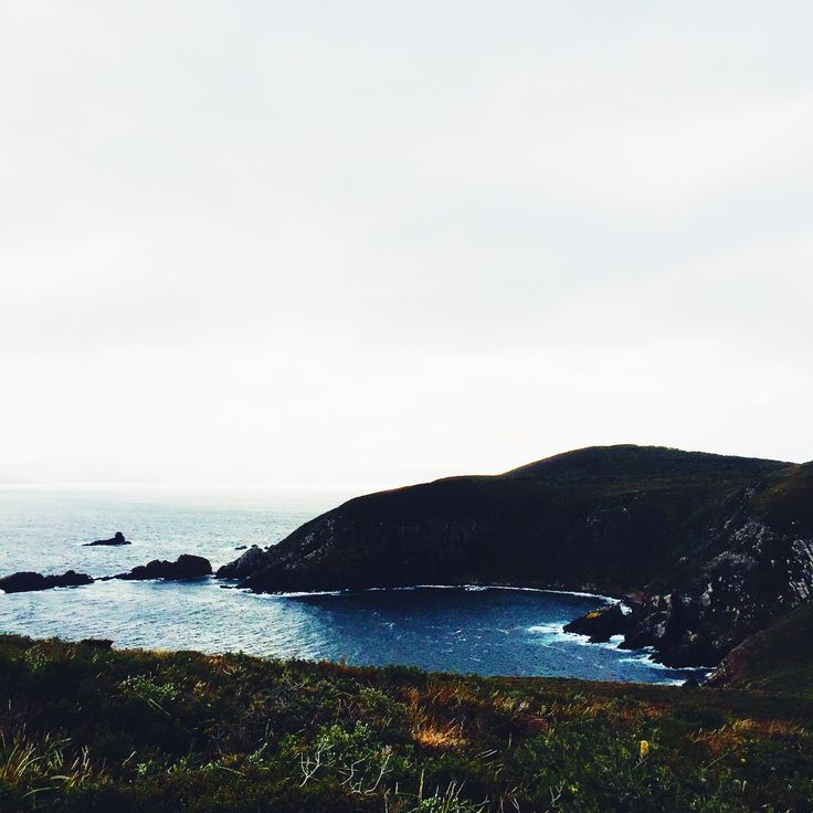 Moody Cape Bruny on Bruny Island