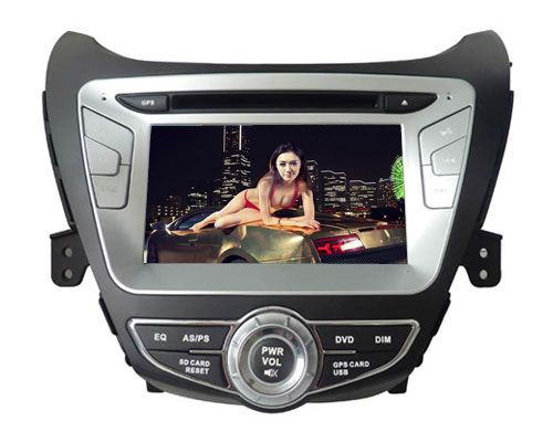 Hyundai Elantra 2012 DVD Radio with GPS Navigation Bluetooth RDS