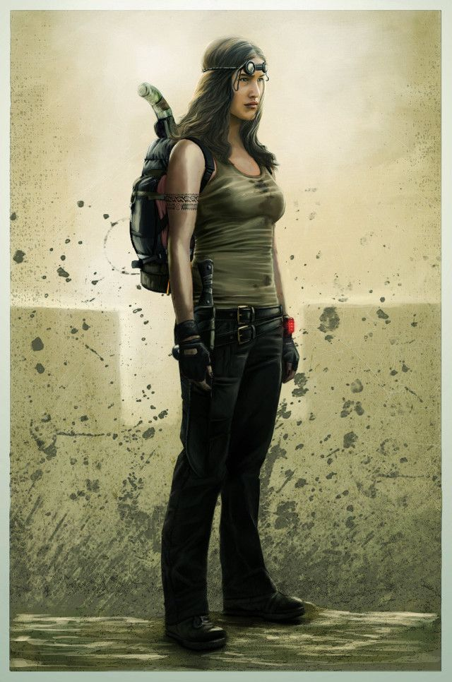 Best Post Apocalyptic Women Warriors Images On Pinterest - What a post apocalyptic world looks like according to hollywood
