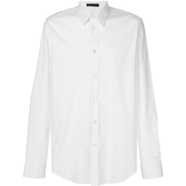 versace mens white shirt