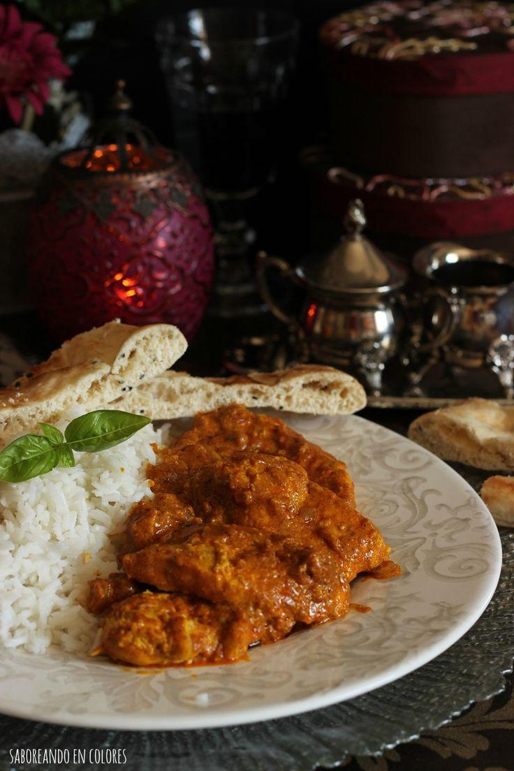 Con el Pollo Tikka Masala disfrutaréis tanto del sabor como del olor que desprende la extravagante combinación de especias. Un plato espectacular sin lugar a dudas.
