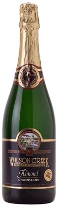 Wilson Creek Almond Champagne - Enticing and fragrant with aroma between marzipan & almond.
